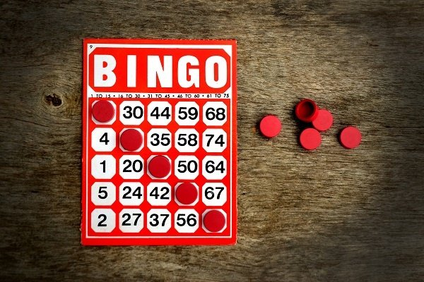 Bingo Card And Chips 84083797 7